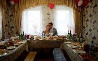 Кружевная (Ландышевая) свадьба. Меню на свадьбу дома