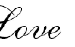 Латинские буквы для тату. Программа для создания эскизов татуировок