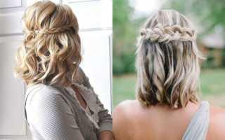Как заплетать короткие волосы. Как заплести косы на короткие волосы