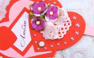 Объемные валентинки своими руками схемы.