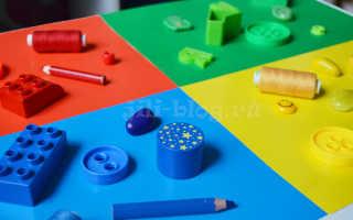 Изучаем цвета для детей от 1 года. Тест готовности и план изучения цветов