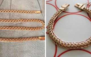 Виды плетения ювелирных цепочек. Цепочку с каким плетением выбрать