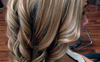Двойное мелирование на темные волосы. Современное мелирование на русые волосы