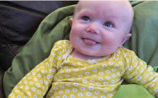 У ребенка 6 месяцев высунут язык. Почему новорожденные высовывают язык